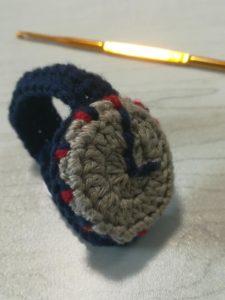 手編みのの腕時計