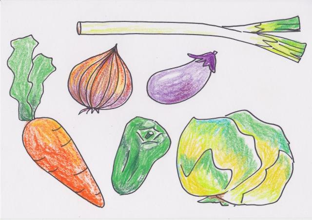 みんなの日本語「野菜」