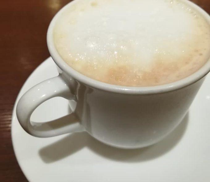カフェのカフェオレ