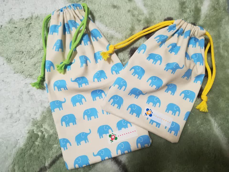 保育園の巾着袋