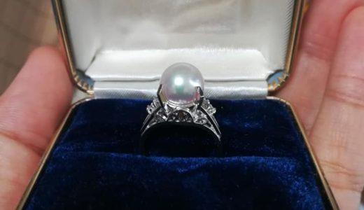 パールの指輪を祖母から譲り受けました
