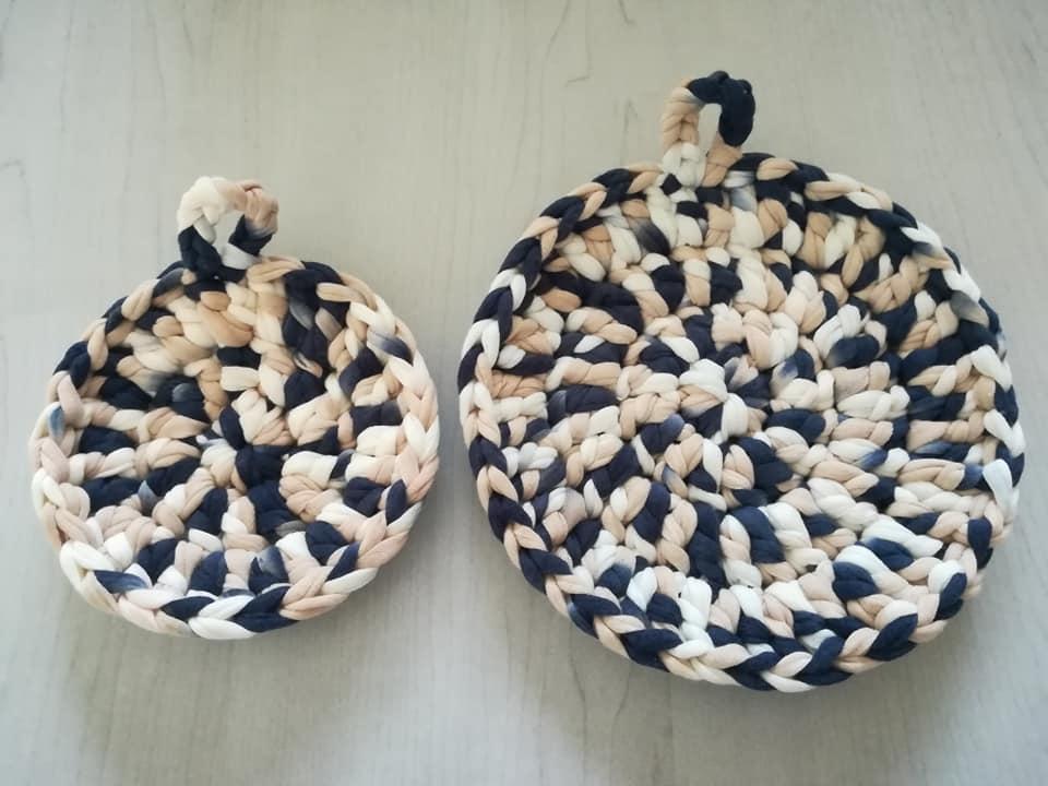 手作り鍋敷き