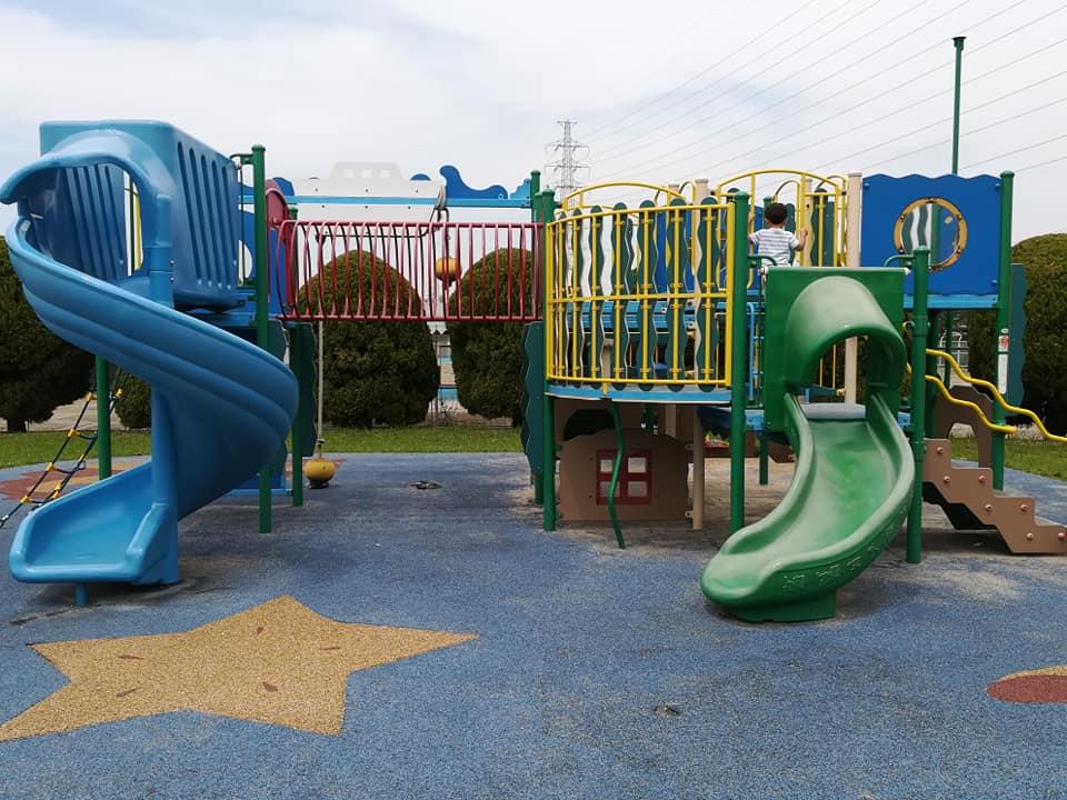 金岡公園の遊具