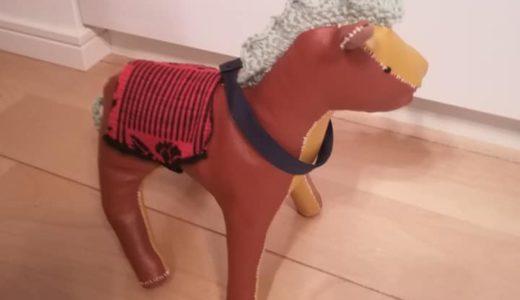 馬のぬいぐるみを手作り!フェイクレザーで作ってみました