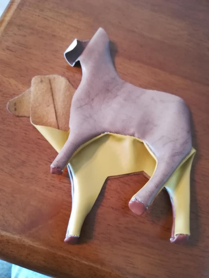 馬のぬいぐるみ制作過程
