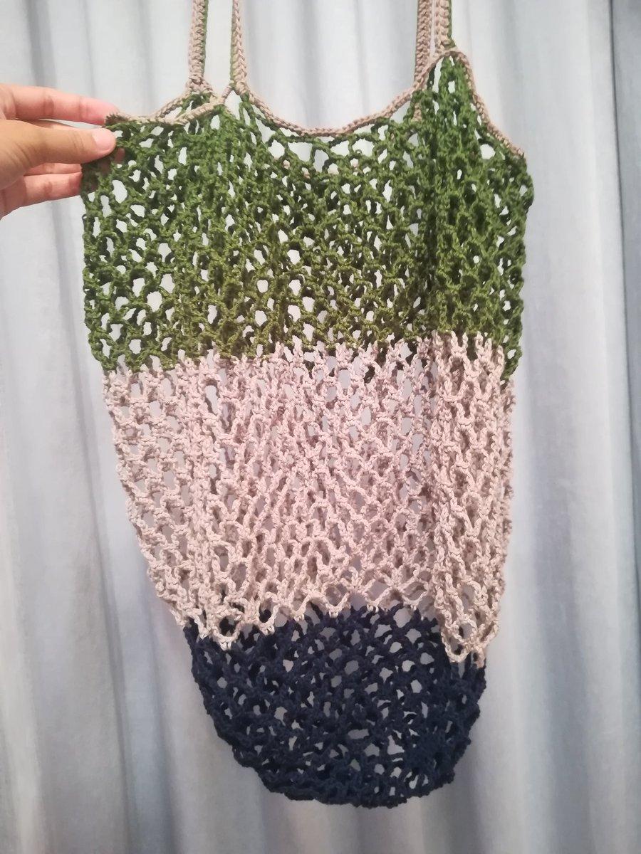 かぎ針編みのネット