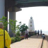 旧堺燈台と堺観光ボランティアガイドさん