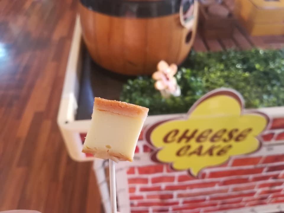 シャトレーゼベルフォーレワイナリーのチーズケーキ