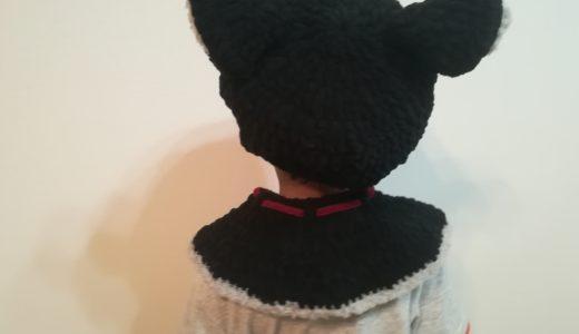ハロウィン衣装「黒猫」を作ってみた(かぎ針で編んでみた)