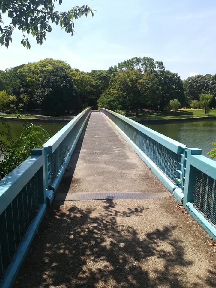 長居植物園の橋