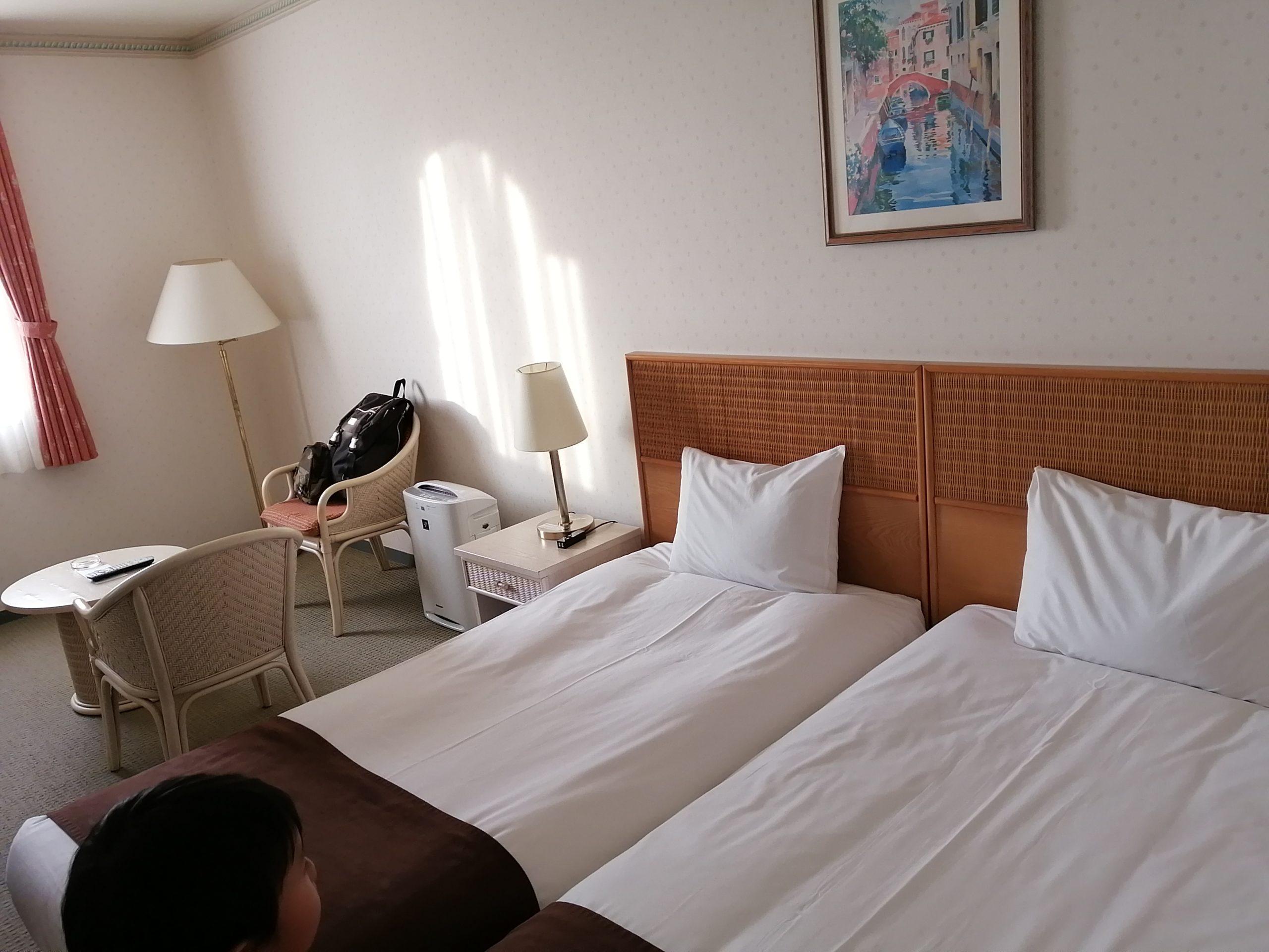 和歌山マリーナシティホテルのツインルーム