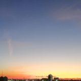 大阪の夕暮れ