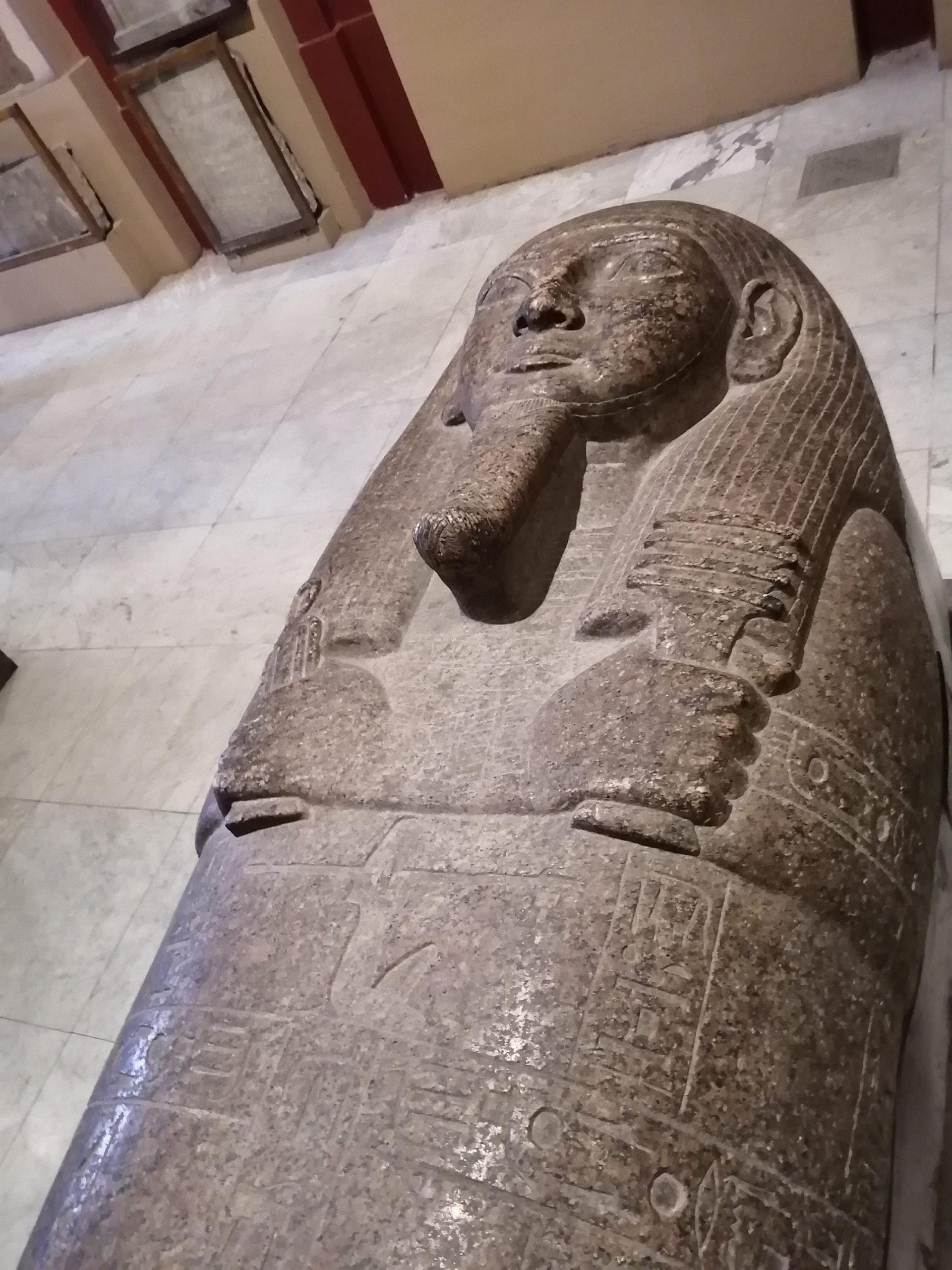 エジプト考古学博物館の棺