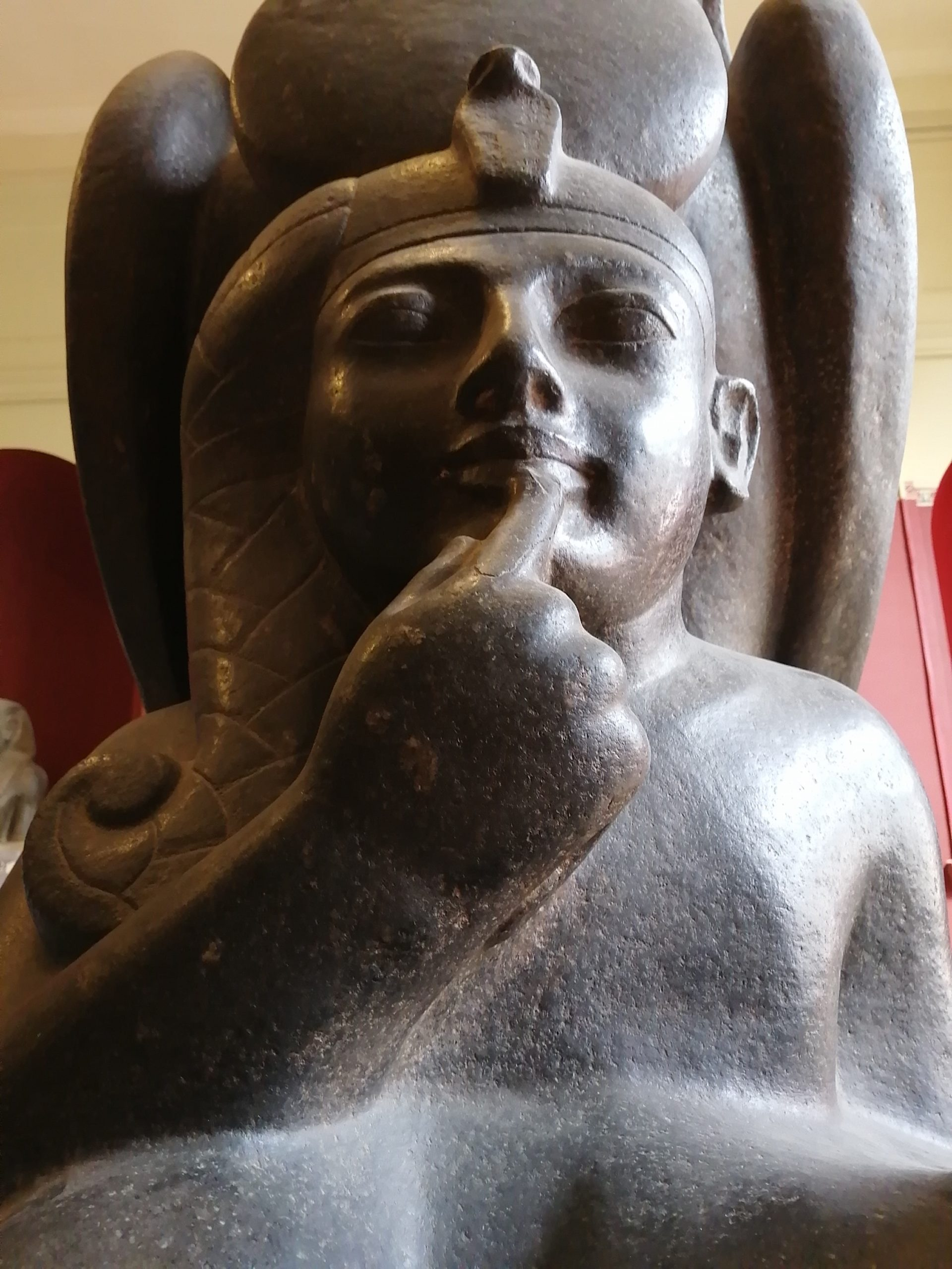 エジプト考古学博物館の子ども時代のラムセス二世