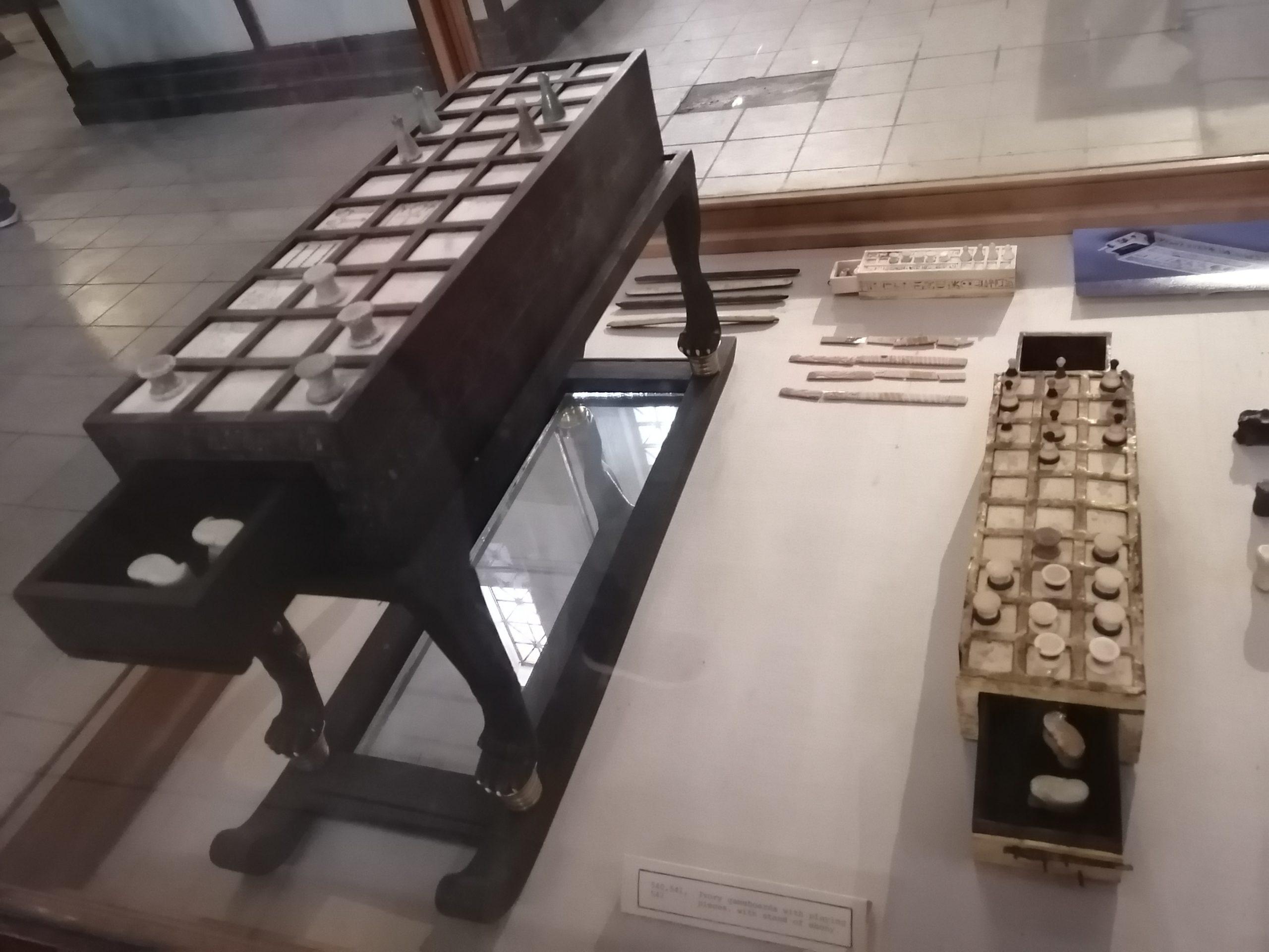 エジプト考古学博物館のゲーム