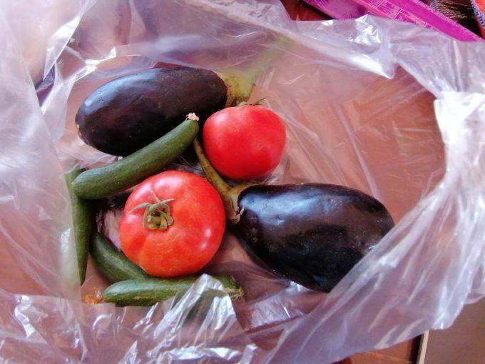 スークの野菜
