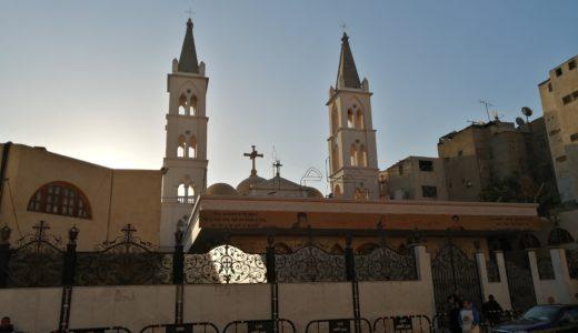 エジプトのルクソール福音教会の礼拝に行ってきたよ!
