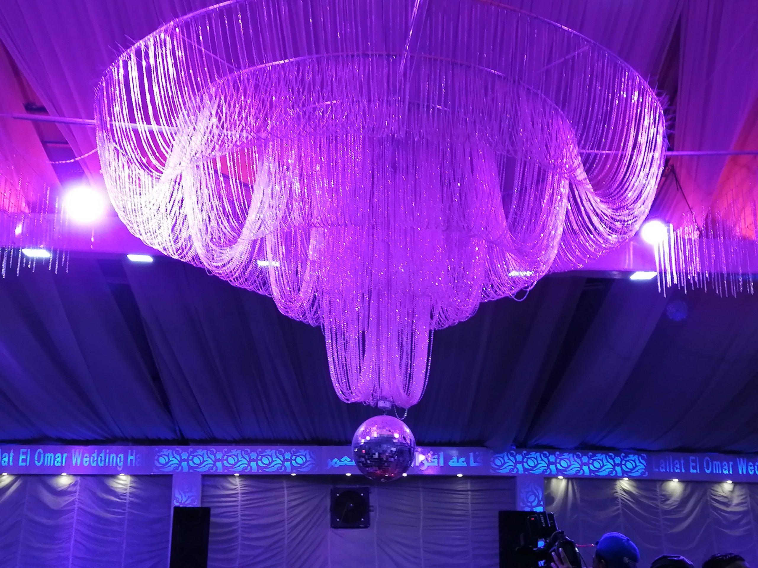 エジプトの結婚式会場