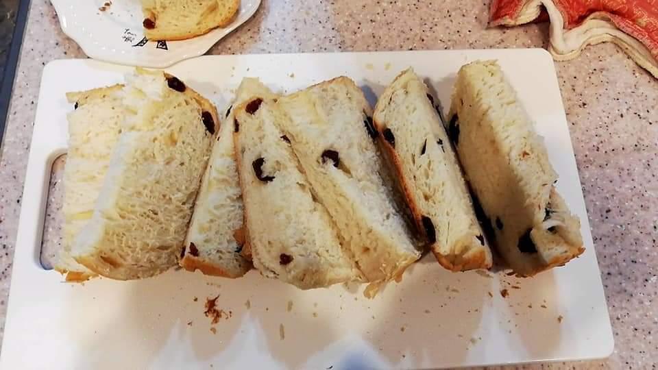 パン焼き機で作ったパン
