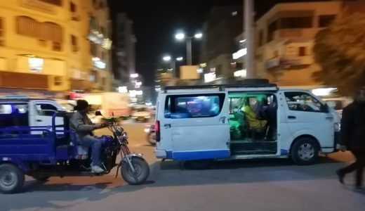 エジプト!ルクソールのマイクロバス(ミクロバス)の乗り方