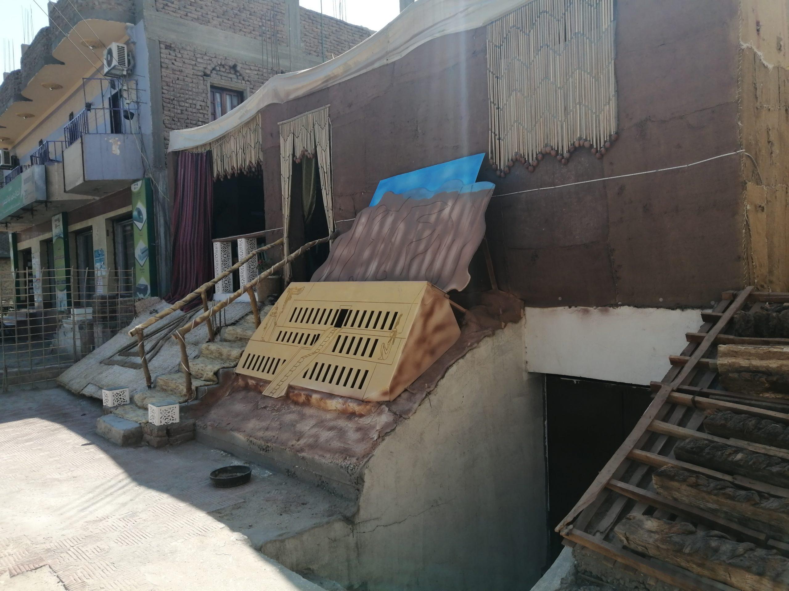 エジプトのカフェ