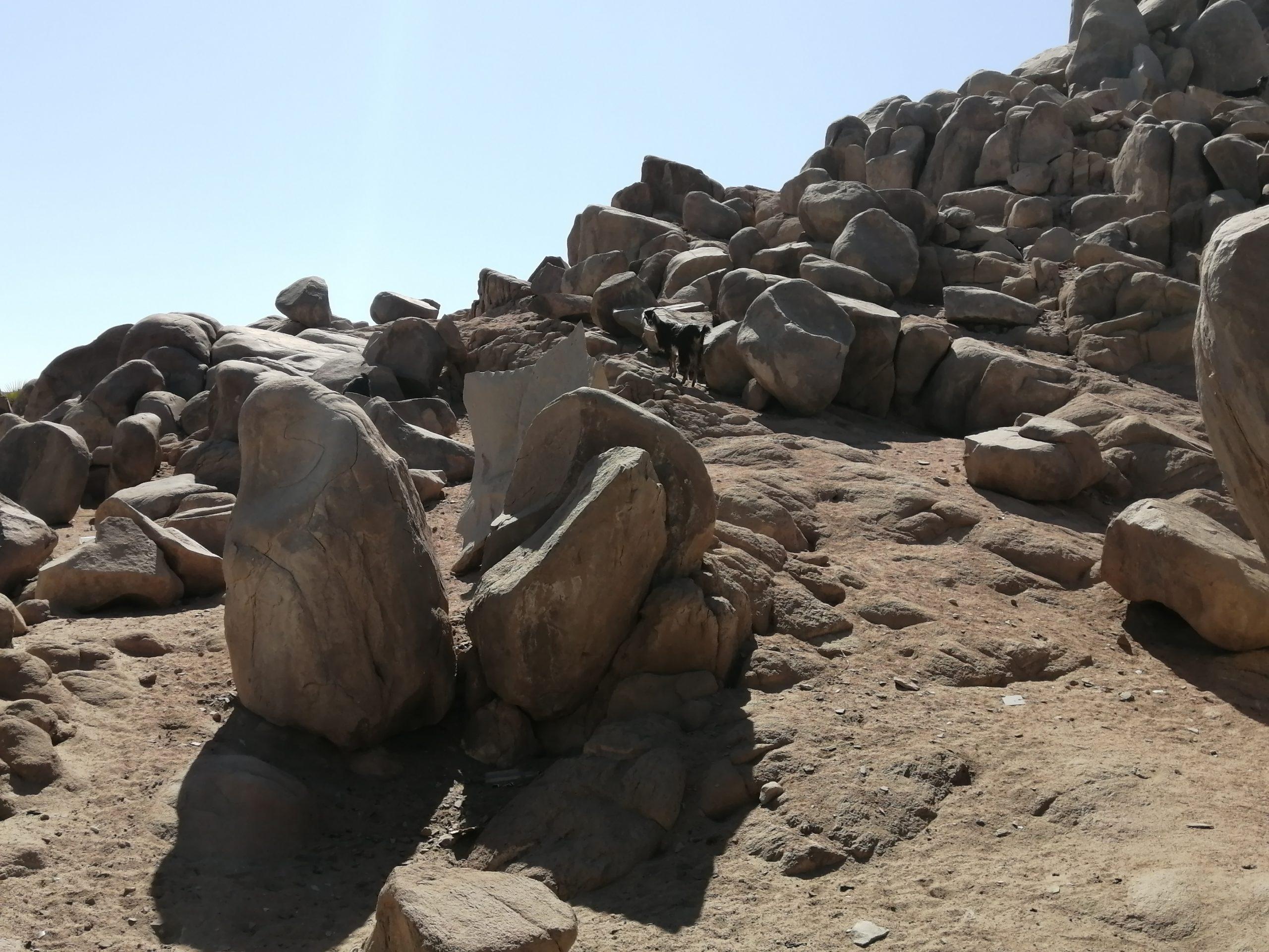 エジプトのアスワンのソヘル島