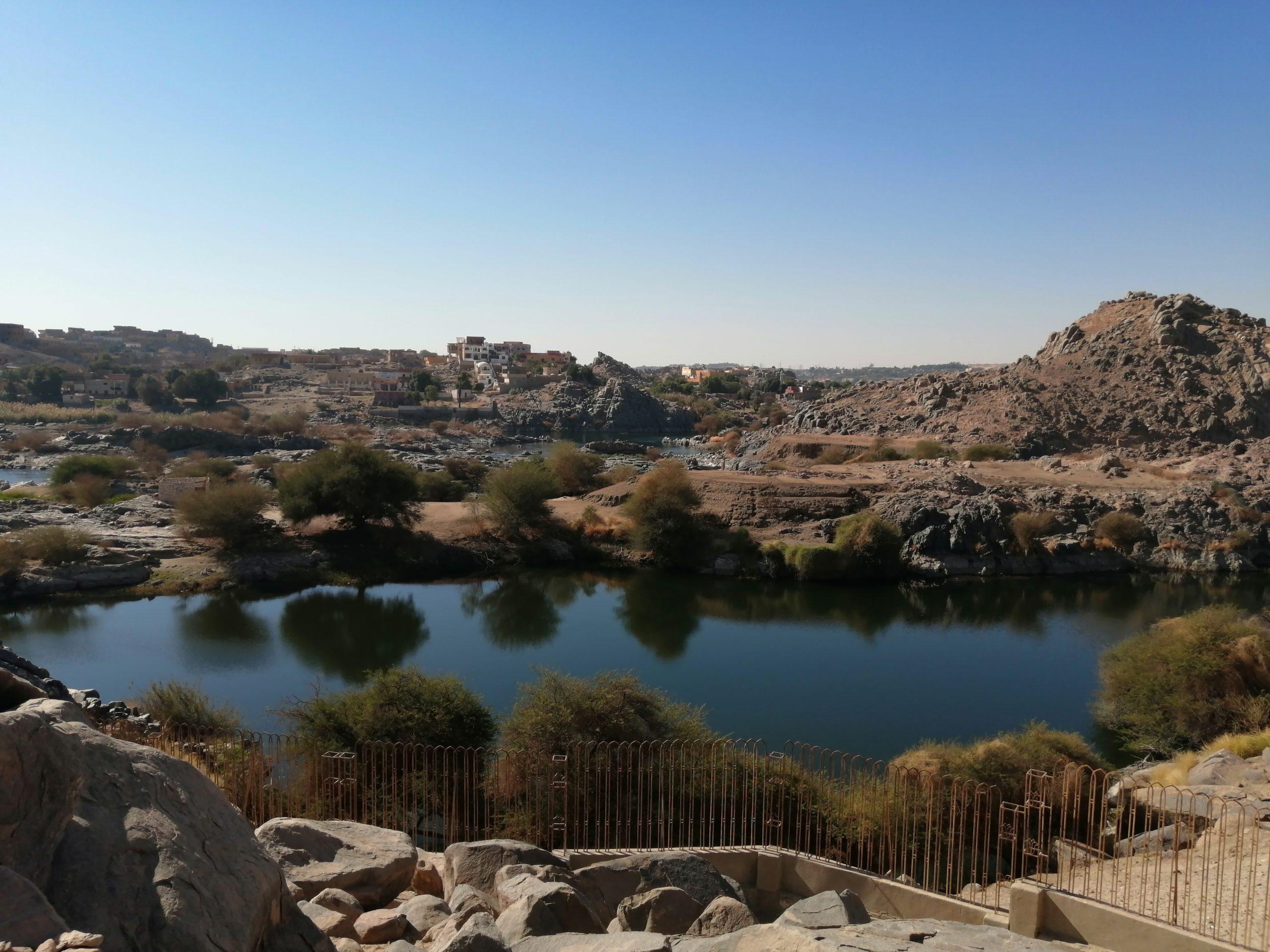 エジプトのアスワンのセヘル島