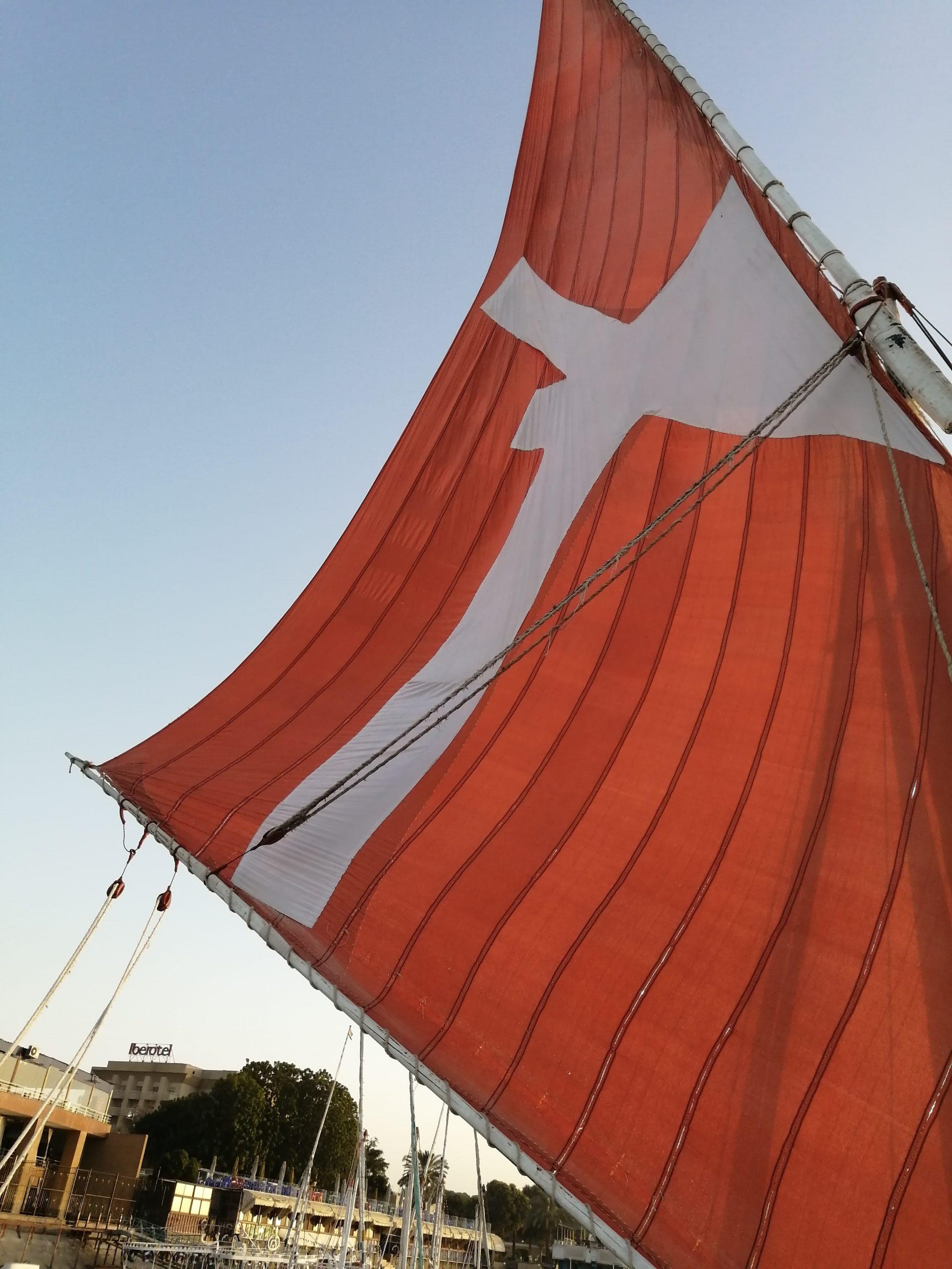 フェルーカの帆