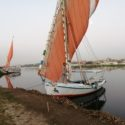 エジプトのフェルーカ