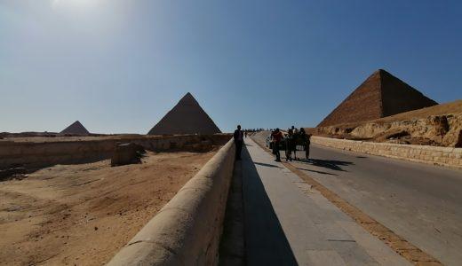 エジプト!ギザの三大ピラミッド観光!ラクダにも乗れました