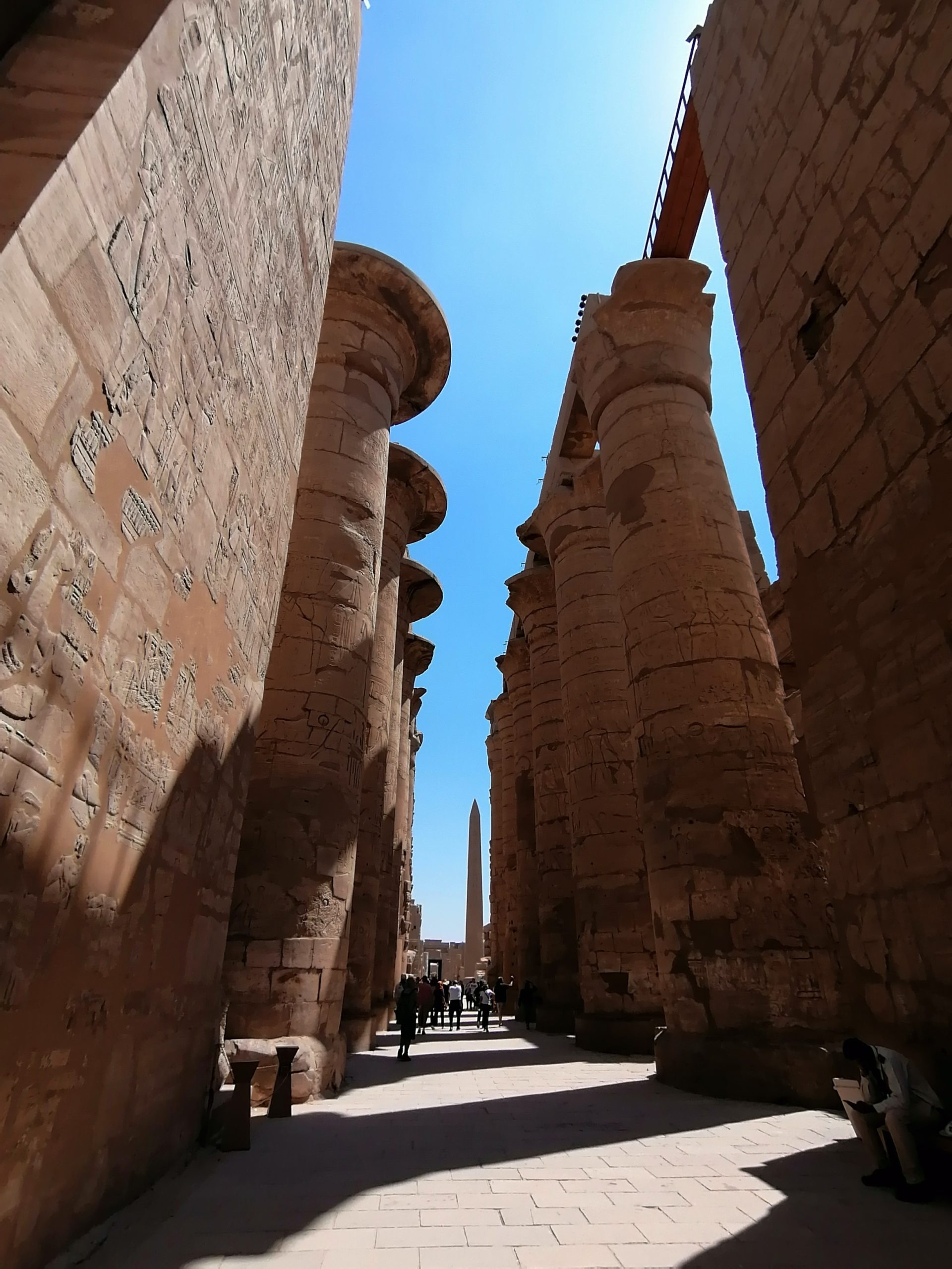 エジプトのカルナック神殿