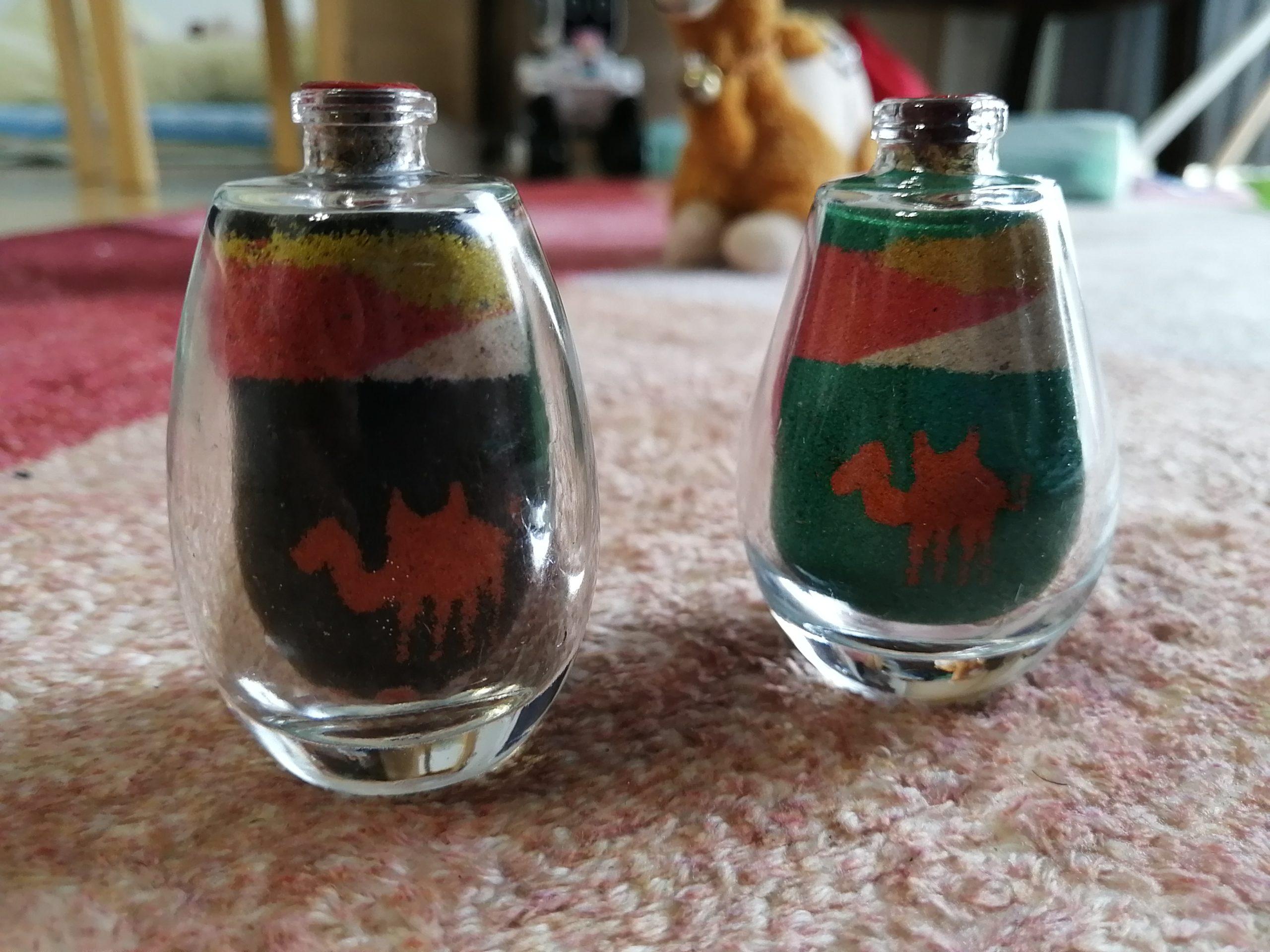 エジプトのお土産・サンドグラス