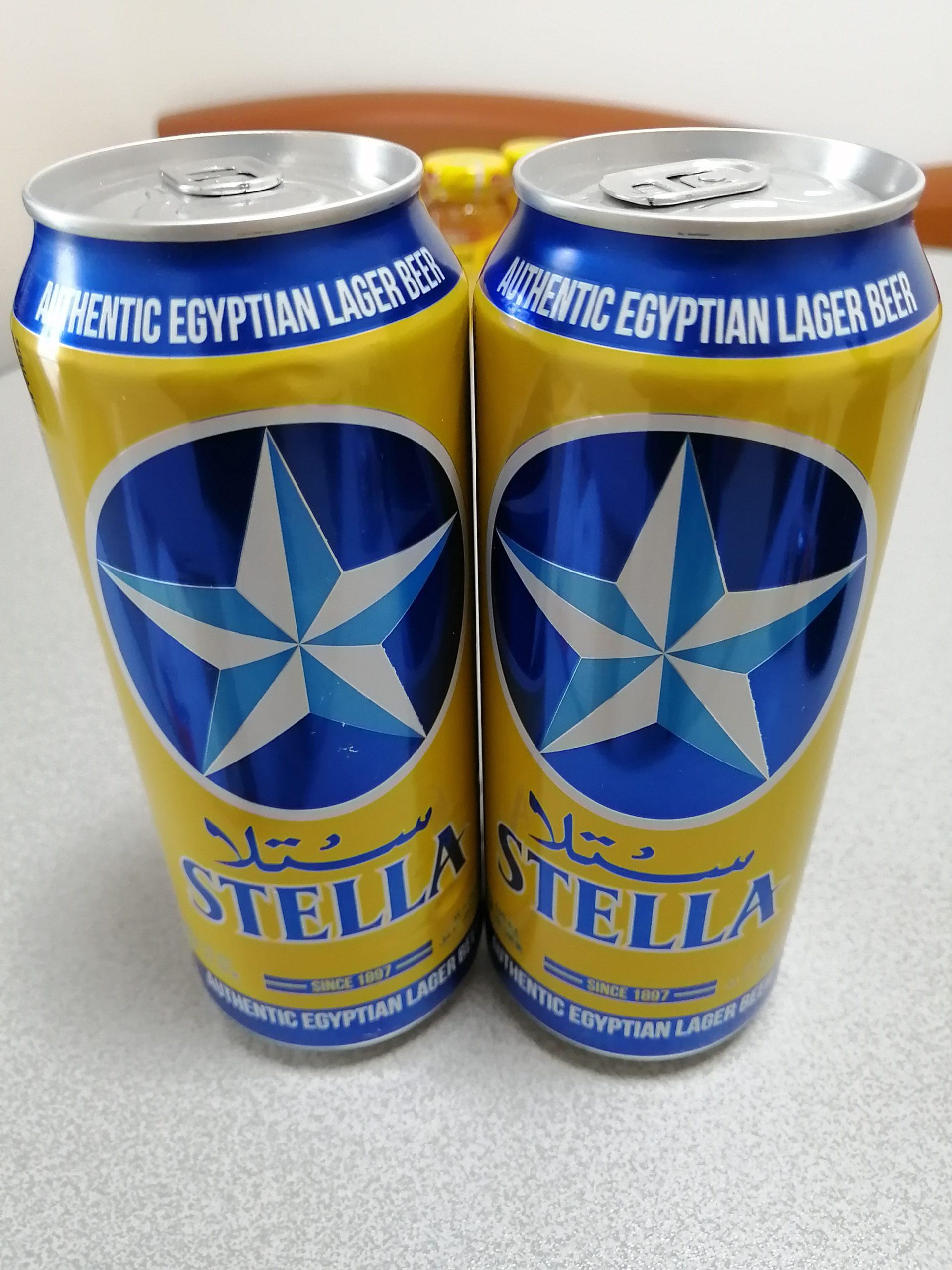 エジプトのビール・STELLA