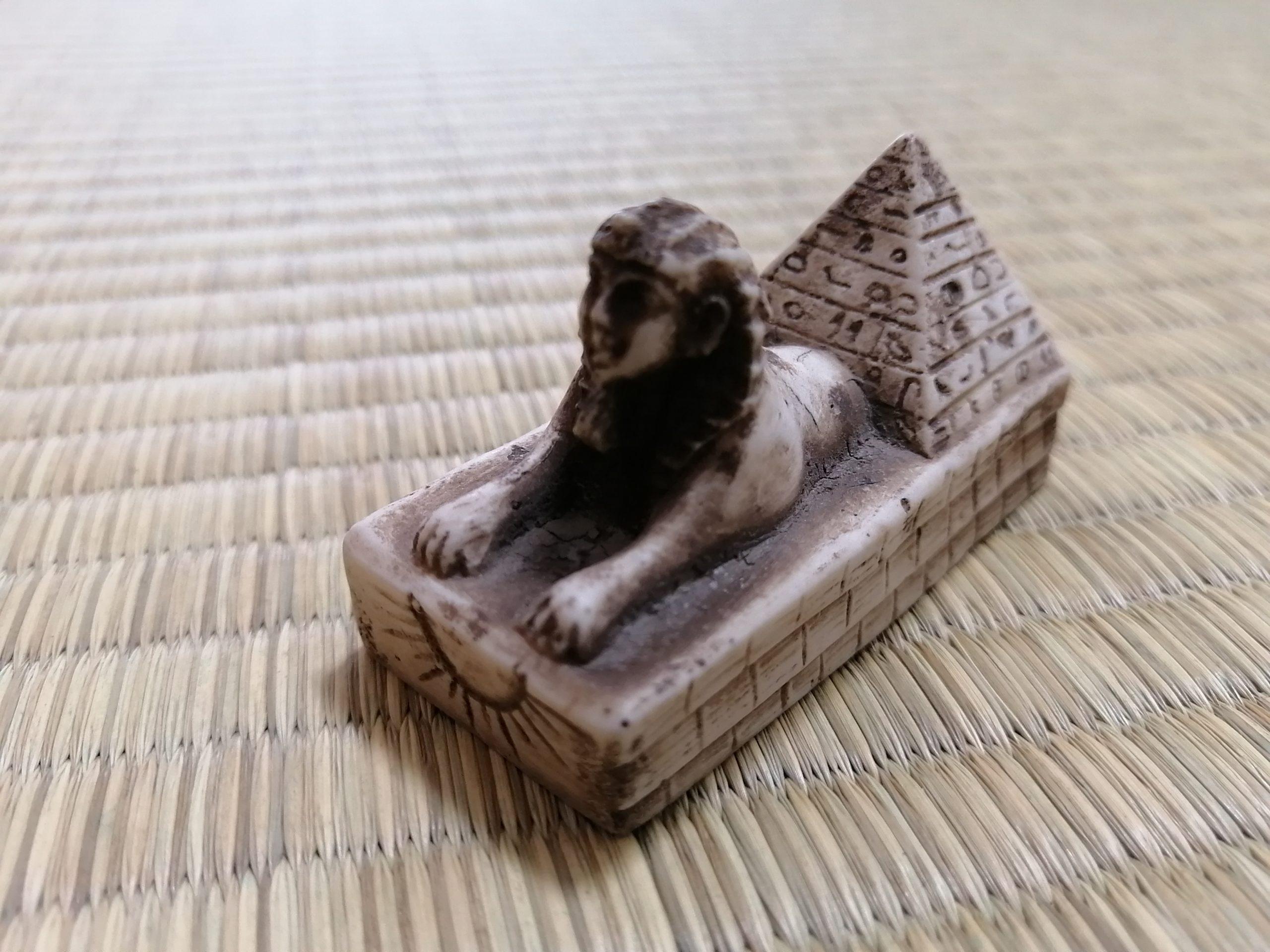 エジプト土産・スフィンクスの置物