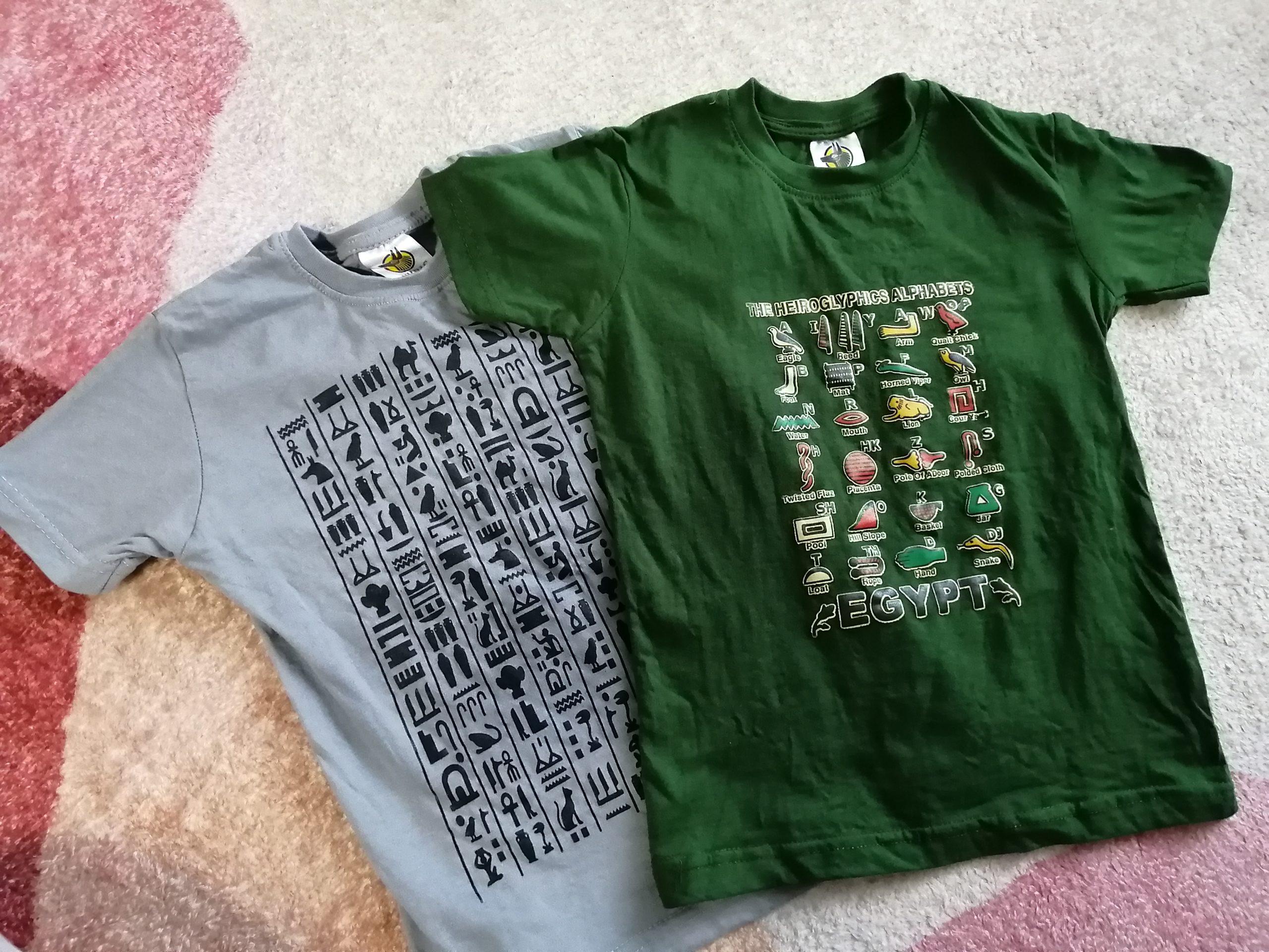 エジプト土産・子どものTシャツ