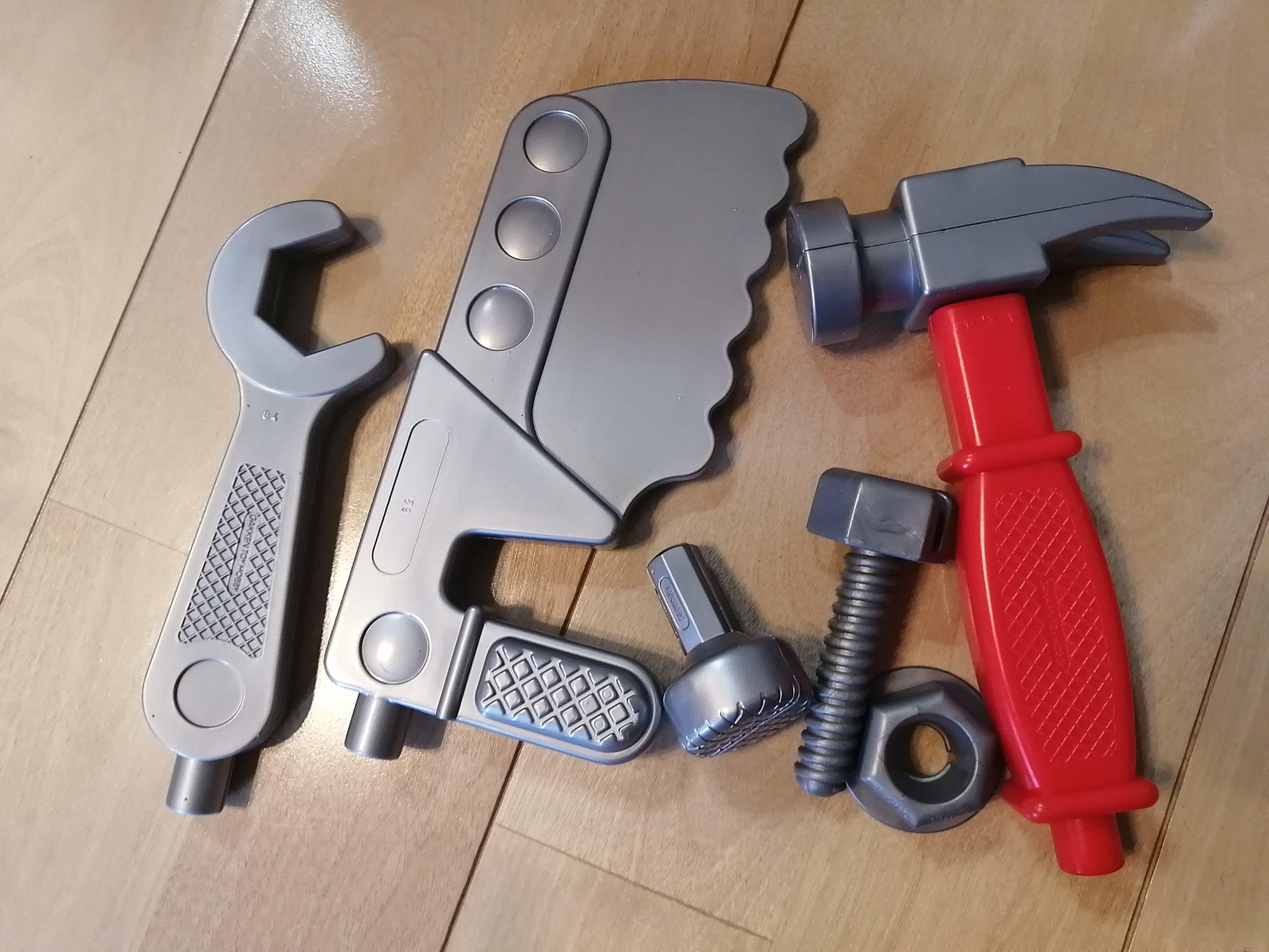 ニューブロックの工具