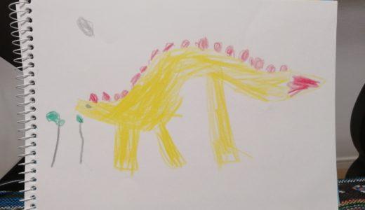 子ども(5歳)と絵画教室(大阪)の見学に行ってきました