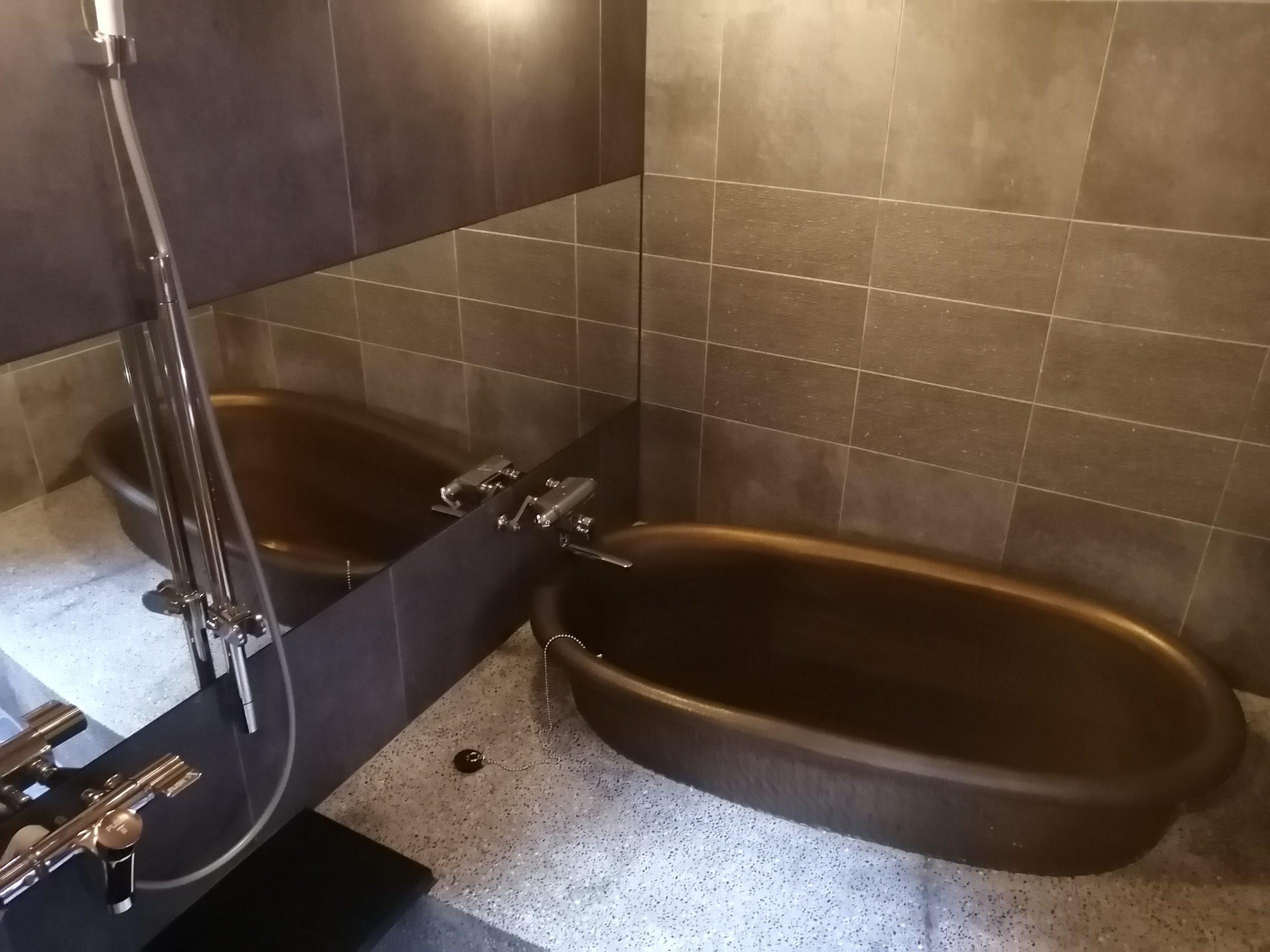 古民家のお風呂