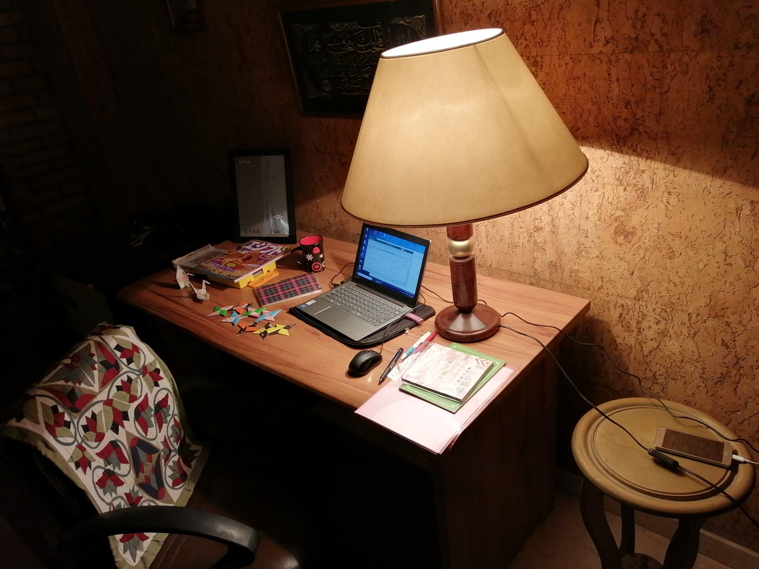 エジプトの書斎