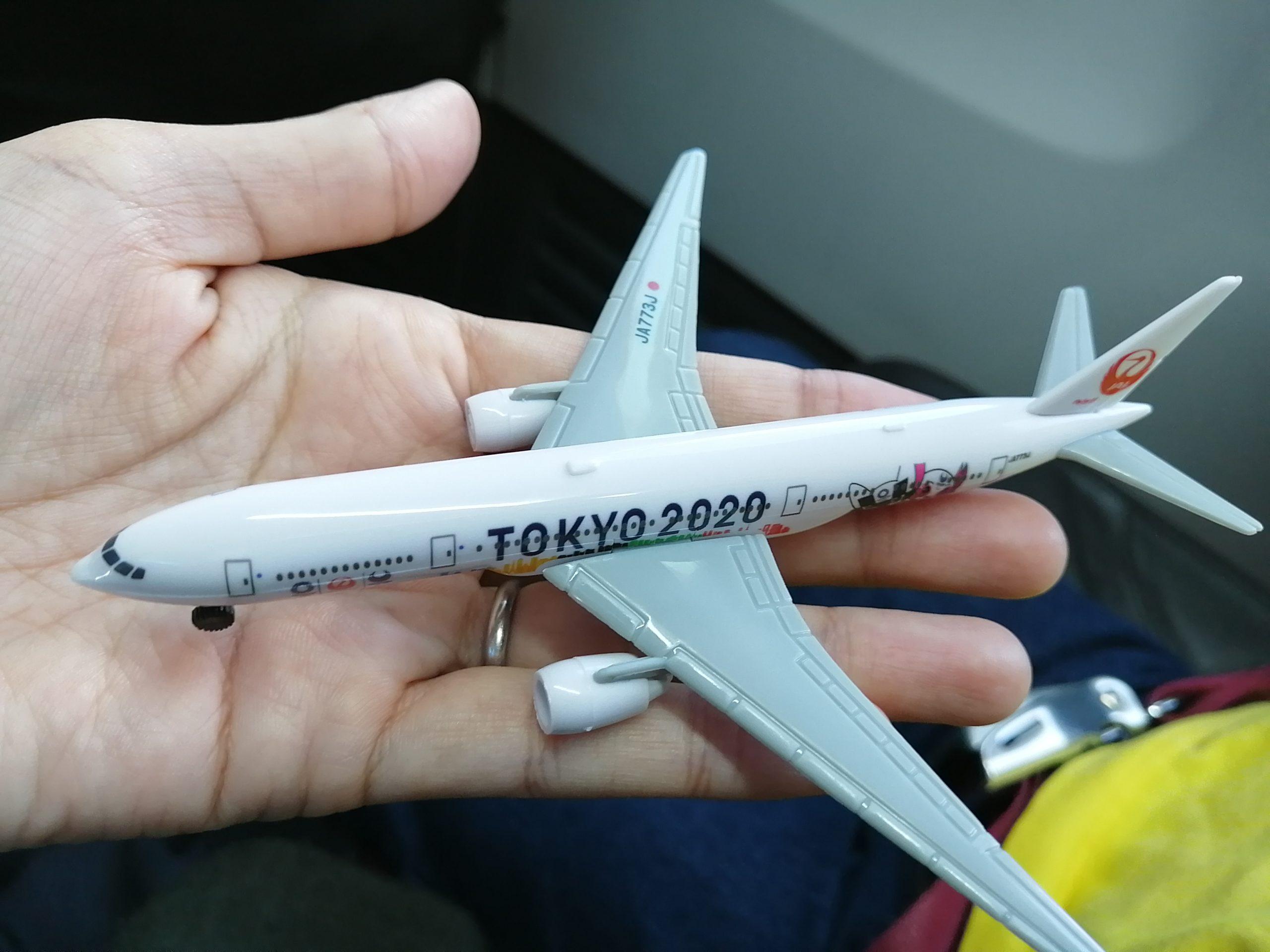JALの飛行機のおもちゃ2020
