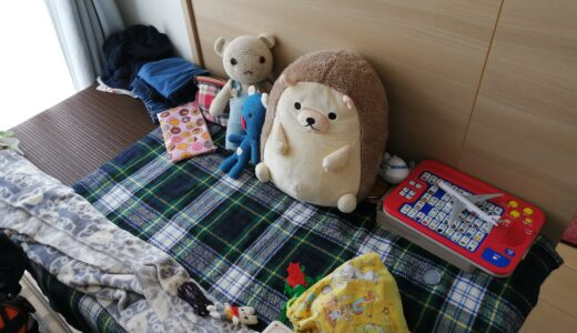 ソファがわりに買った小上がりの現在について・子どもの秘密基地みたいになりました